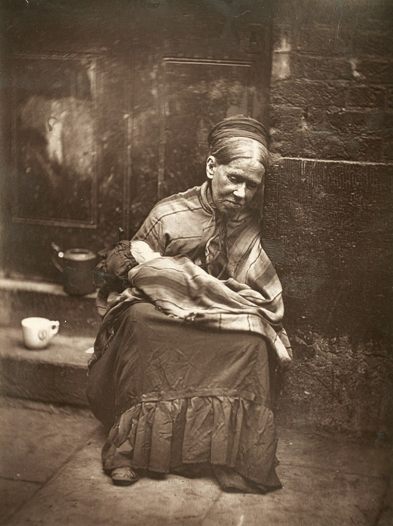 Image: John Thomson, The Crawlers. From 'Street Life in London', 1877, by John Thomson and Adolphe Smith