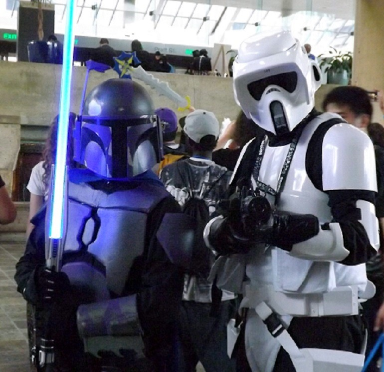 Image: During Cosplay Costume Parade at Otakon, some fans were Straight Out of Star Wars at Otakon- 773 x 747