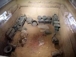Reconstitution de la tombe