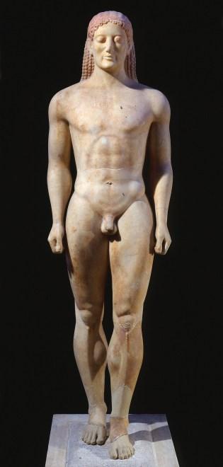 Couros d'Anavyssos, 530 BC, Musée national d'Athènes