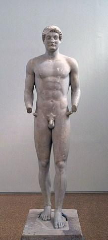 Couros d'Aristodikos, v.510 BC, Musée national d'Athènes (© Andrea Motta)