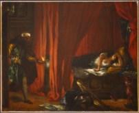 Delacroix, Othello et Desdémone