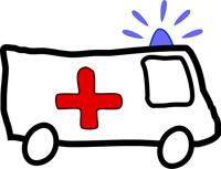 Hospital infection ambulance pointal 200px