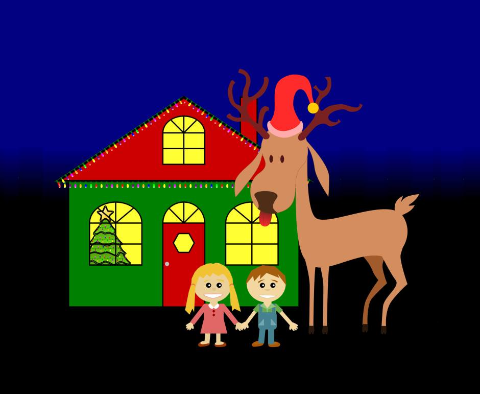 Reindeer at (your) home