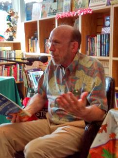 Bank of Books, Art Chester reading