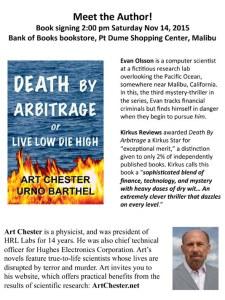 Death By Arbitrage signing