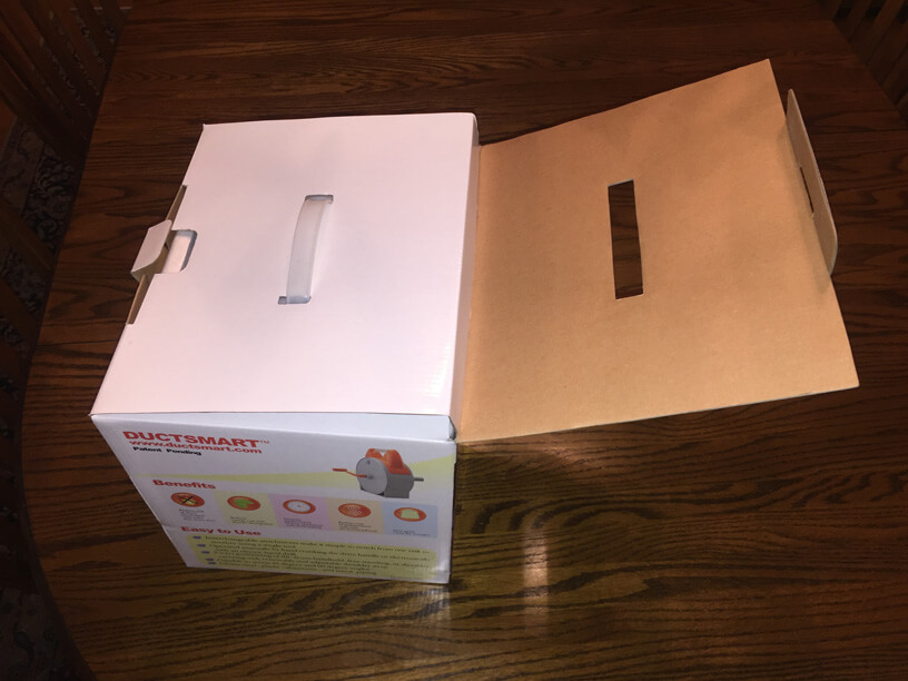 Lint - Ductsmart packaging