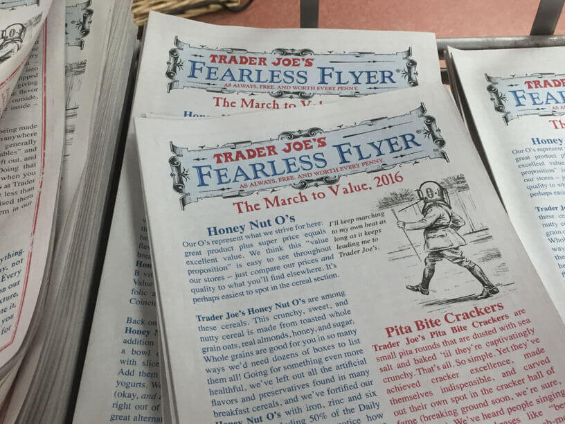 trader joe's Fearless Flyer
