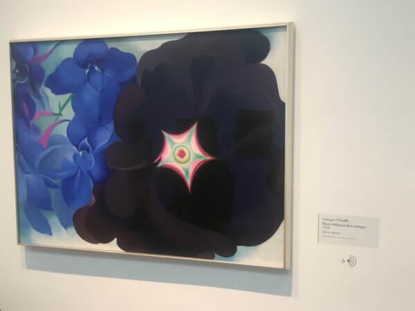 Santa Fe art - Georgia O'Keeffe Museum