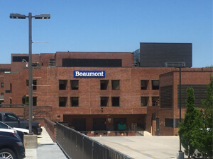 hospital surgery, Beaumont Hospital, Grosse Pointe, Michigan