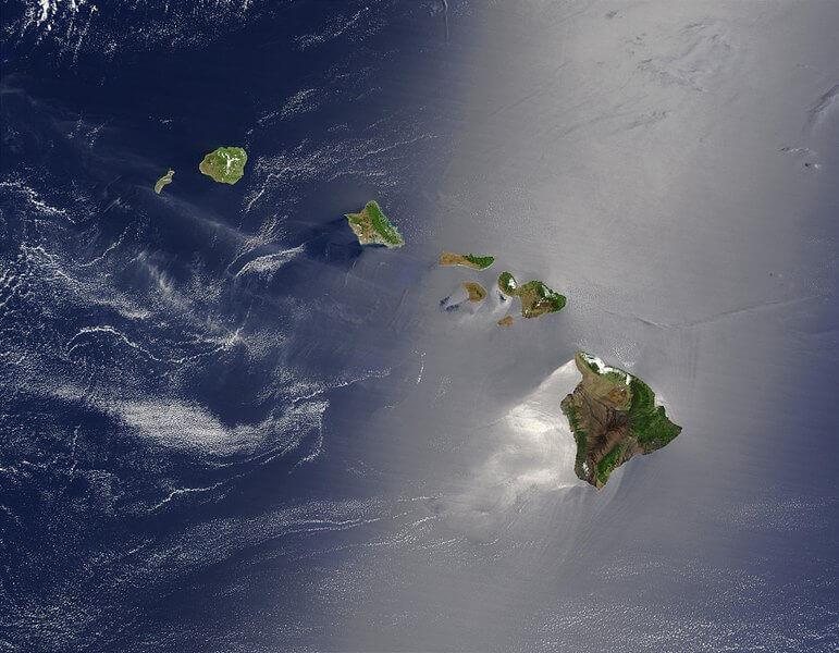 Maui Vacation Hawaii Satellite View