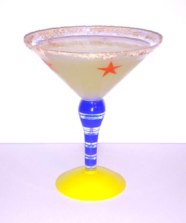 Maui Vacation Lemon Drop Martini Hawaii