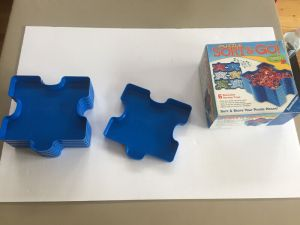 jigsaw puzzle assembly