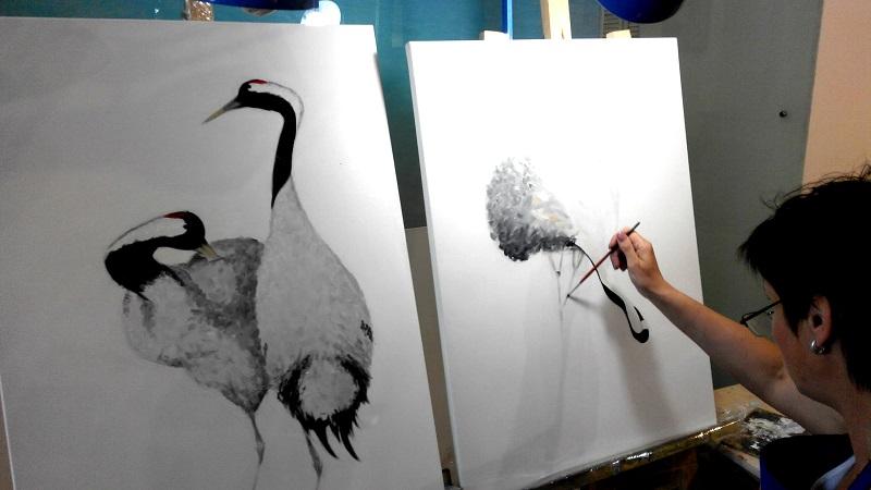 мастер-класс по живописи в студии рисования ArtClass