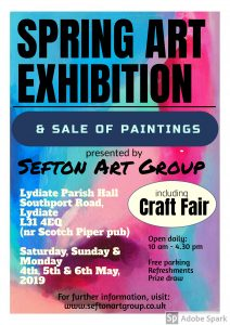 art exhibition, lydiate parish hall, liverpool, merseyside, southpoort sefton, sefton art group, members exhiting paintings, paintings for sale, original paintings for sale