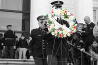 Wreath Laying Ceremony by our students at Arlington, Tomb of the Unknown Soldier