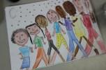 2nd Grade Family Portraits COLOR (6)