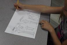 2nd Grade Portraits Setting (1)