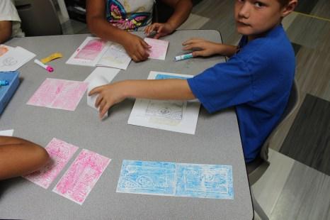 4th Grade Printmaking (1)