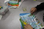 4th Grade Stained Glass Oiling (2)