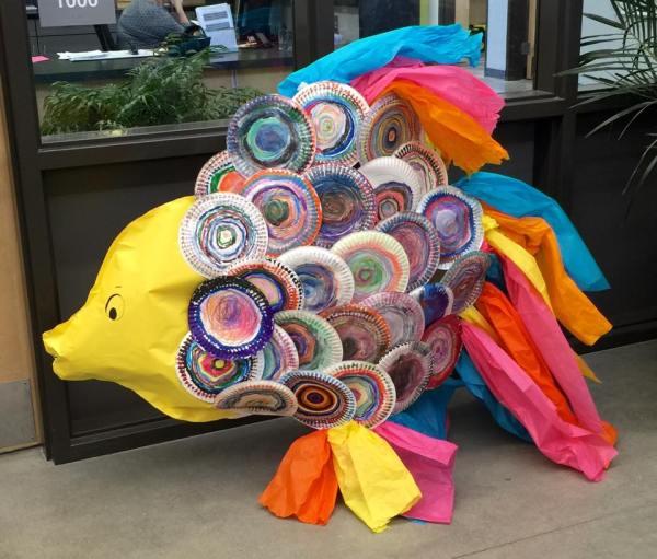Fish Art Project Kindergarten