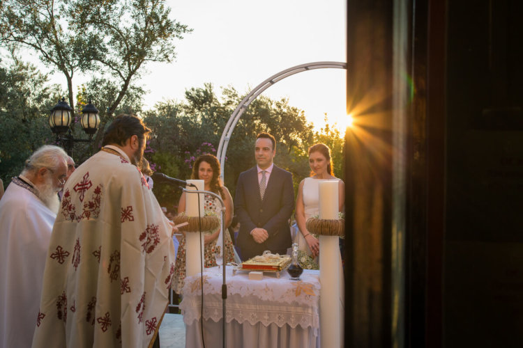 sunlight for a perfect wedding