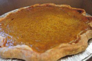 Pumpkin pie cooking class