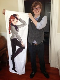 Custom Body Pillow Case - ArtCorgi - Commission Portraits ...