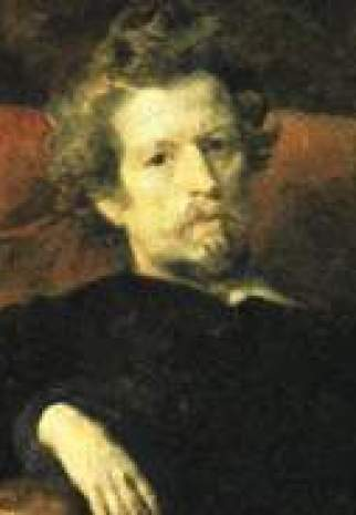 Autoportrait de l'artiste 1848