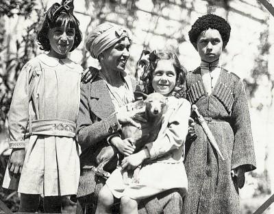 famille Wrangel Crimée 1920