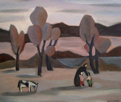 michael-yakhilevich-landscape-with-goat