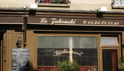 devanture Zakouski
