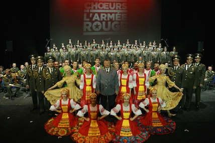 LES CHOEURS ARMEE ROUGE MVD ©FGL Productions