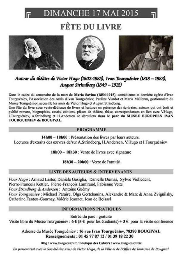 Fête du Livre Tourgeniev