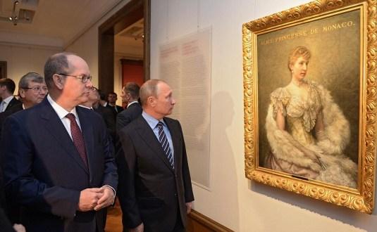inauguration tretiakov monaco + Poutine
