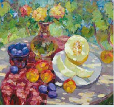 E. Smirnov melon pêche