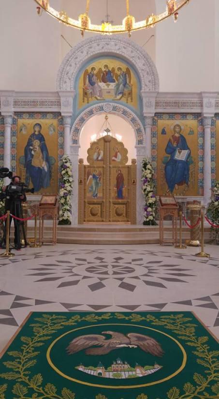Altar avec icônes