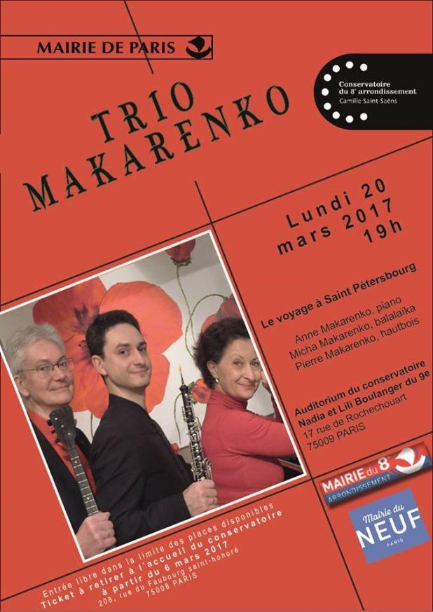 trio Makar 20 mars