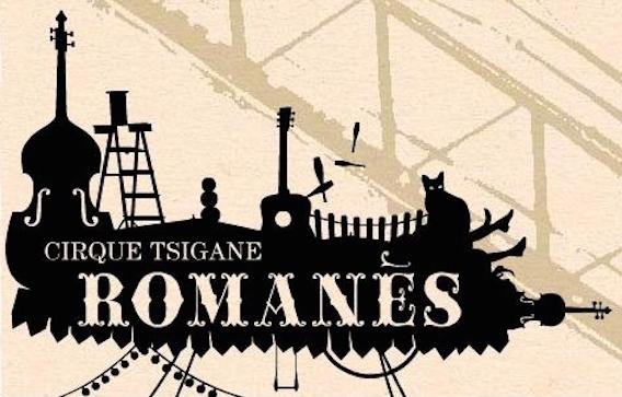 affiche cirque Romanes