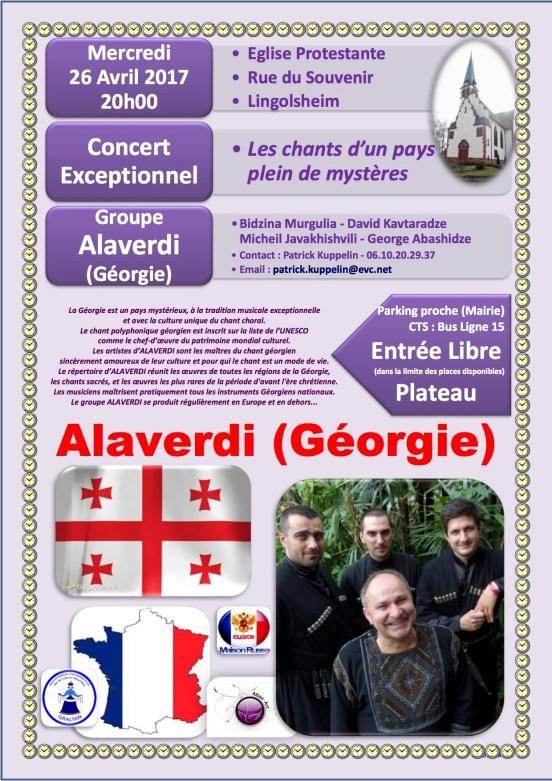 Concert Géorgie