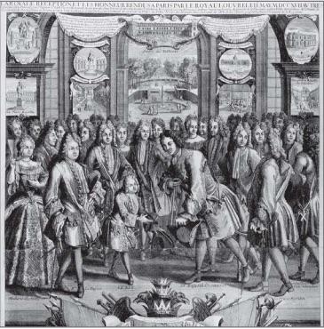 pierre le grand et Louis XV
