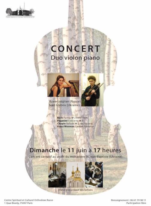 concert violon