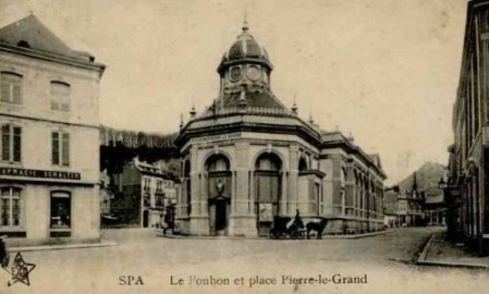 pavillon Pierre le Grand Spa