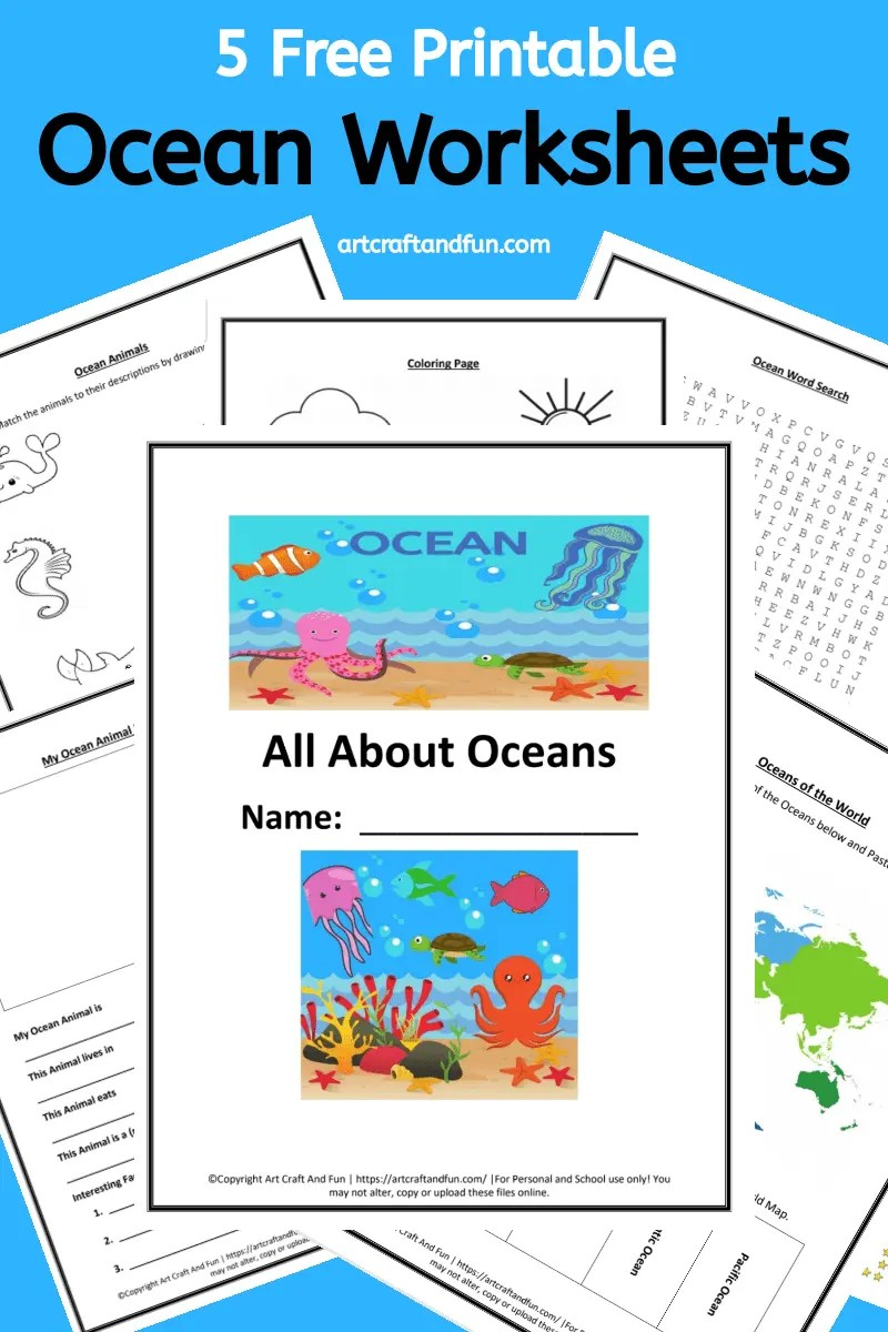 hight resolution of Grab 5 Free Printable Ocean Worksheets For Your Grade Schooler Today