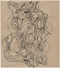 Andre Masson-Automatic Drawing