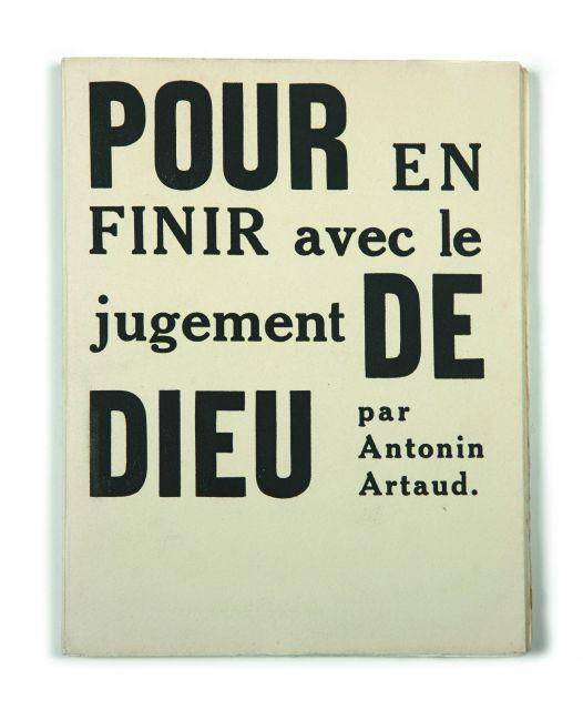 Pour En Finir Avec Le Jugement De Dieu : finir, jugement, Books, Manuscripts, N°2564, N°141, Artcurial