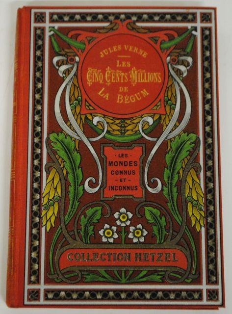 Cinq Cent Ou Cinq Cents : cents, Jules, Verne, Hetzel, N°2565, N°94, Artcurial