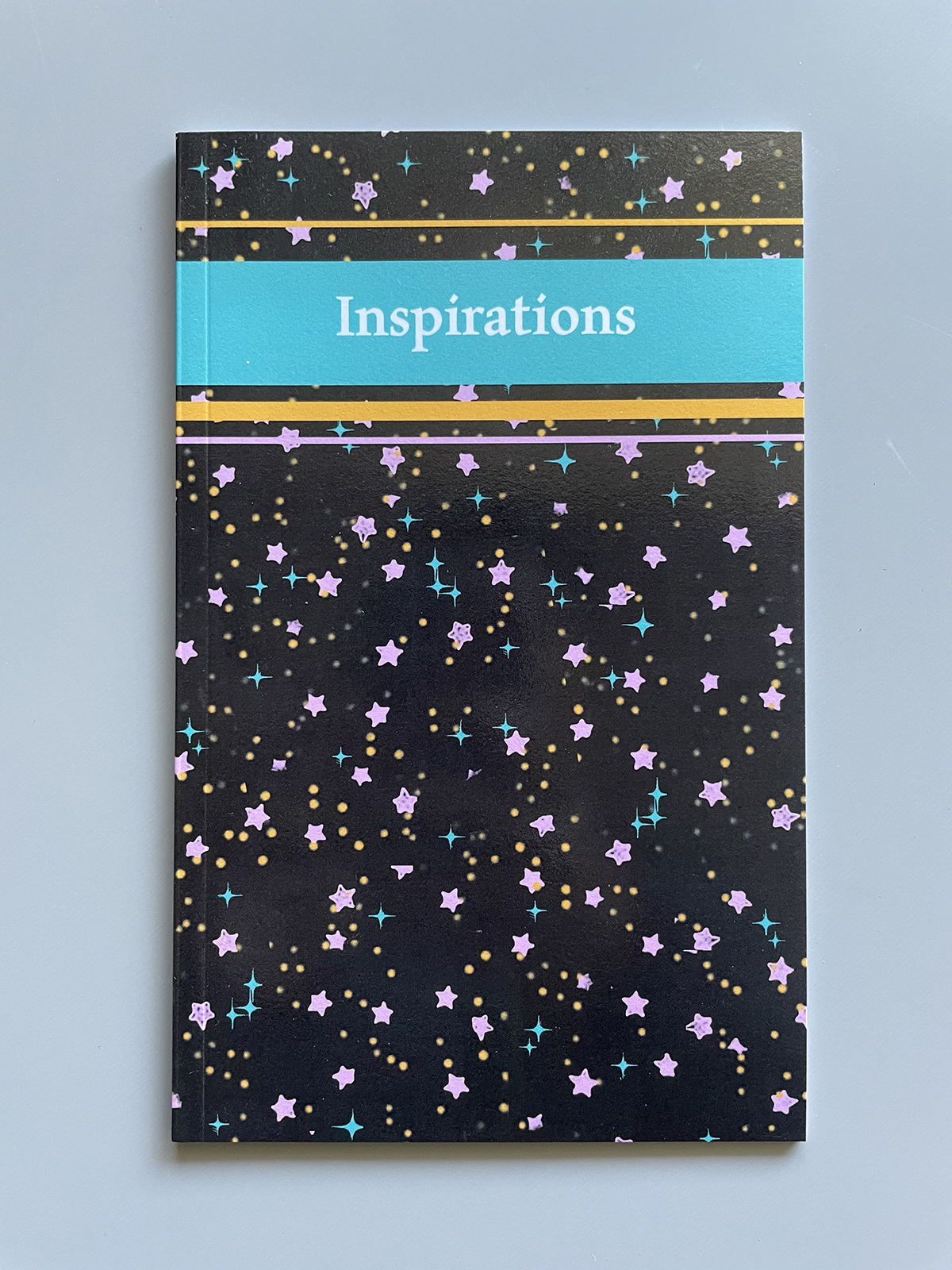 Front cover of the Inspirations zine.