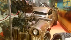 Mad Max car, George St Cinemas, Sydney