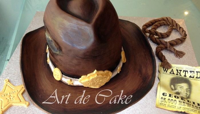 Wild West Cowboy Hat Cake
